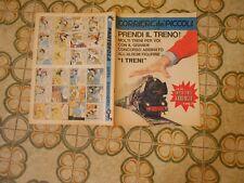 CORRIERE DEI PICCOLI NR  40  1967  con inserto  album figurine   dei treni lima