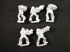 40K Grey Knights in Power Armour Classic Metal Squad + Force Weapons Blister