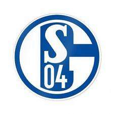 FC Schalke 04 Fanartikel S04 Aufkleber 8 cm Durchmesser blau und weiß günstig