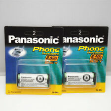 2PCS New HHR-P105 Ni-MH Rechargeable Battery 830mah for Panasonic Cordless Phone