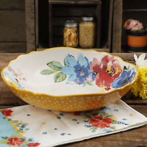 The Pioneer Woman Melody 12.75-Inch Large Pasta Serving Bowl