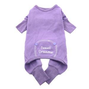 Doggie Design Thermal Sweet Dreams Dog Pajamas  Lilac XS-S-M-L