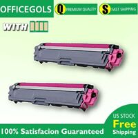 2 Pack TN223 Magenta With Chip Toner For Brother MFC-L3710CW HL-L3210CW IN STOCK