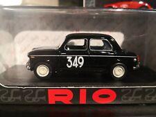 Fiat 1100 E #349 25th Monte Carlo 1955 Dunod / Sampigny 1:43 RIO Models 0451