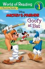 Mickey & Friends: Goofy at Bat: A Rhyming Reader (World of Reading) - Acceptable