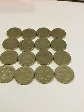 RARE 2008 One Pound Royal Coat Of Arms Job Lot Of 20 Coins!!!!