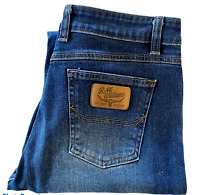 RM Williams Womens Blue Straight Leg Jeans DTJEH Size 14 W30 L32
