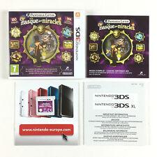 Professeur Layton et le masque des miracles / Jeu Sur Nintendo 3DS, 3DS XL...