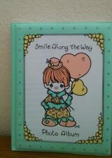"""Precious Moments Photo Album Smile Along the Way Holds 64 Pictures 5"""" x 3 1/2"""""""