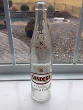 Vintage ACL Soda Pop Bottle: SANDERS of CASSANDRA, PA - 16 oz ACL Soda