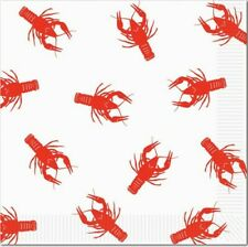 Crawfish Lunch Napkins Crawfish Party Supplies Mardi Gras Party Decorations