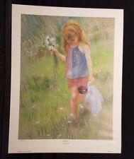 Frances Hook signed Bouquet 22.5x29.5 poster 689/1200 limited ed.