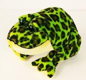 "Ganz Webkinz Speckled Bullfrog Plush Stuffed Animal HM114 No Code 9"""