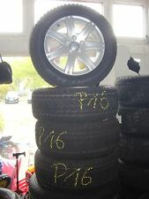 Audi A6 4F Winterreifen/ Alufelgen 7Jx16H2ET42, Dunlop SP 225/55R16 99H Nr. P16