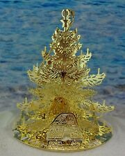 Gold Plated Cape Cod Christmas Ornament