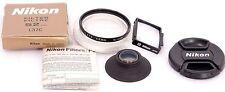 Nikon F Accessories: NIKON L37c 52mm Filter + Nikon B Focusing Screen + EyeCup