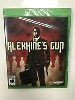 Alekhine's Gun Xbox One Brand New Factory Sealed NIB Complete CIB Microsoft 1