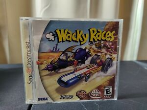 Wacky Races (Sega Dreamcast, 2000) Complete With Manual