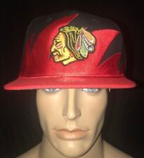Mitchell & Ness Chicago Blackhawk's Shark Tooth Adjustable Cap Hat