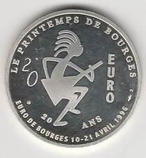 1996 - FRANCE - EURO DES VILLES / BOURGES / 20 EURO (ag)