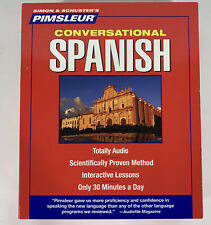 Pimsleur Learn to Speak Conversational Spanish Language 8 CD's- New Open Box