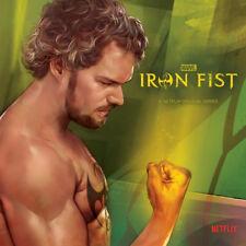 "Disney Marvel Iron Fist 7"" Vinyl Record, NEW"