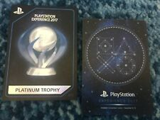 PSX 2017 Playstation Experience - Platinum Trophy - Collectable Card #077