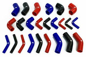 Stoney Racing 45 / 90 Deg. Silicone Elbow Hose Pipe Bend Turbo Intercooler Water