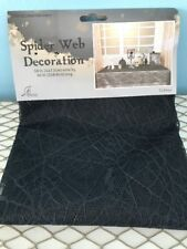 """Spider Web Decoration Table Cloth 58"""" Wide 90"""" Long New"""