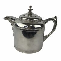 Vintage Sovereign G I Mix & Co Silver Colored Teapot Stamped 5