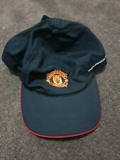 Manchester united cap merchandise soccer hat football new with tags
