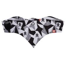Airhole Ski and Snowboard Splinter Black and white 2 Layer Facemask neck M/L