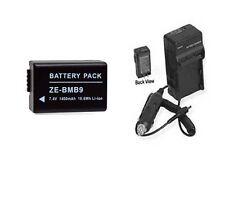 Battery + Charger for Panasonic DMWBMB9PP DMWBMB9E