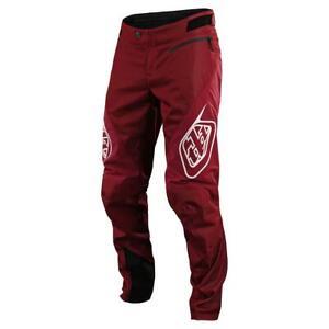 Troy Lee Designs Sprint Pant Burgundy Dark Red 32