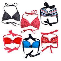 Tommy Hilfiger Womens Bathing Suit Top Bikini Halter Swimwear Swim Beach New Nwt
