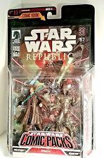 STAR WARS® REPUBLIC #57 Comic Book & Figurines Anakin Skywalker & Assassin Droid