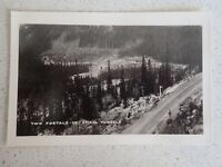 Vintage Real Photo Postcard Two Portals Of Spirial Tunnels Canadian Pacific (L13
