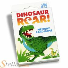 Paul Lamond DINOSAUR ROAR Childrens Memory Card Kids Snap Game