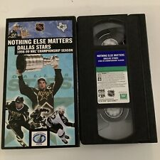 Nothing Else Matters Dallas Stars 1998-1999 NHL Champion Season (VHS, 1999)
