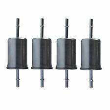 Set of 4 Premium Guard Fuel Filters fits Ford Lincoln Mercury Ford Mazda