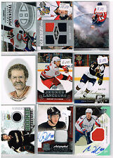HUGE Lot Of 2010-11 Autos - Game Used - Rookies - Parallels - Inserts - Base