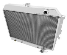 "1968-72 Dodge, Plymouth 5.7 Hemi Engine Conv 3 Row DR Radiator 26"" Wide Core"