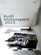 Original Audi Motorsportkalender von 2013  NEU