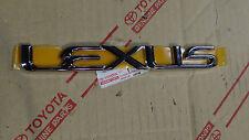 01-03 OEM NEW LEXUS RX300 CHROME REAR TRUNK WORD EMBLEM 2001 2002 2003