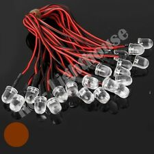 RC LED Light Replacement Lead - 2pc Amber 10mm