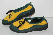 University of Oregon Slippers, Green/Yellow, Womens US Size 10