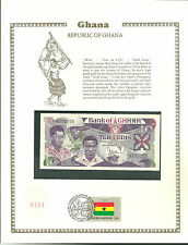 10 ten CEDIS ghana MINT Banknote WORLD CURRENCY COLLECTION Paper Money UNC Stamp