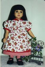 "Doll clothes dress PATTERN fits 23"" dolls  My Twinn"