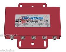 EMP-CENTAURI 4X1 DISEqC MULTI-SWITCH 4X1 SATELLITE FTA LNB FREE TO AIR P.164 HD
