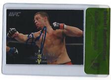 Nate Diaz Signed 2011 Topps Title Shot UFC Card #103 BAS Beckett COA Autograph